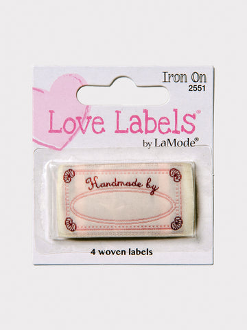 Handmade by Iron On Labels