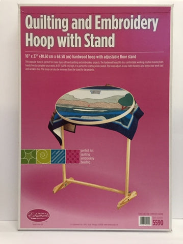 Oval Quilting Frame with Floor Stand