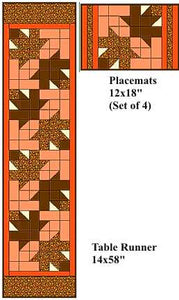 Harvest Table Runner and Placemat Kits