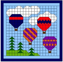 Hot Air Balloons Kit