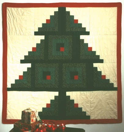 Log Cabin 1 Christmas Tree Kit
