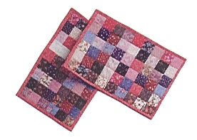 Multi Color Patchwork Placemat Kit Set of 4