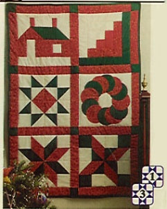 Six Design Christmas Sampler Kit