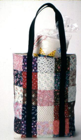 Multi Color Calico Tote Bag Kit