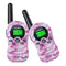 8-22 Channel Walkie Talkies License-FREE - FR388A 2pcs Pink Camouflage