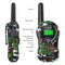 8-22 Channel Walkie Talkies License-FREE - FR388A 2pcs Jungle camouflage