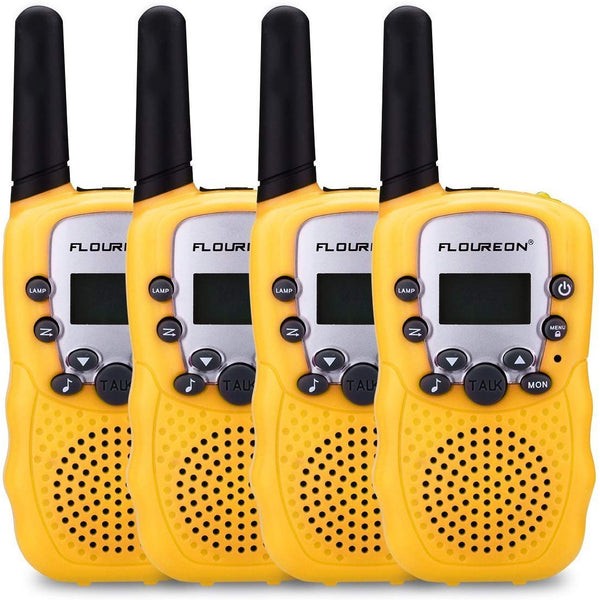 22 Channel Walkie Talkies Two Way Radios 3000M-4 Pcs US