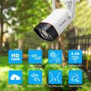 HD 1080P Dual Light IP Wireless Bullet Security Camera Active Defense Outdoor Camera