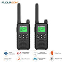 22 Channel Walkie Talkies, Adults Kids Two-Way Radio -2Pcs Black US