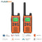 22 Channel Walkie Talkies, Adults Kids Two-Way Radio -2Pcs Orange US