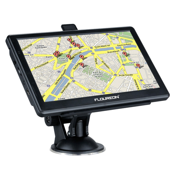 7 Inch FM Touch Screen Truck Car GPS Navigation System MP3 SAT NAV Navigator Free Maps 8GB 128M