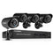 4CH 1080N DVR with 4 Pcs 1.0MP 1500TVL Cameras Surveillance Kits(No Hard Drive)