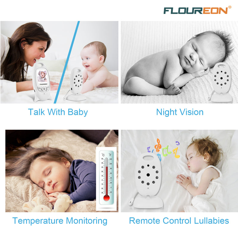 Digital Wireless 2.4 GHz Baby Monitor