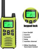 16 Channel Walkie Talkies,Adults Kids Two-Way Radio -2Pcs Green EU