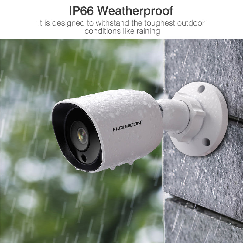 HD 1080P 3000TVL 4-in-1 TVI/AHD/CVI/Analog 940nm Invisible IR Bullet Outdoor Security Camera