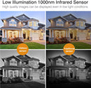 HD 1080P  3000TVL  940nm Invisible IR Bullet Security Camera