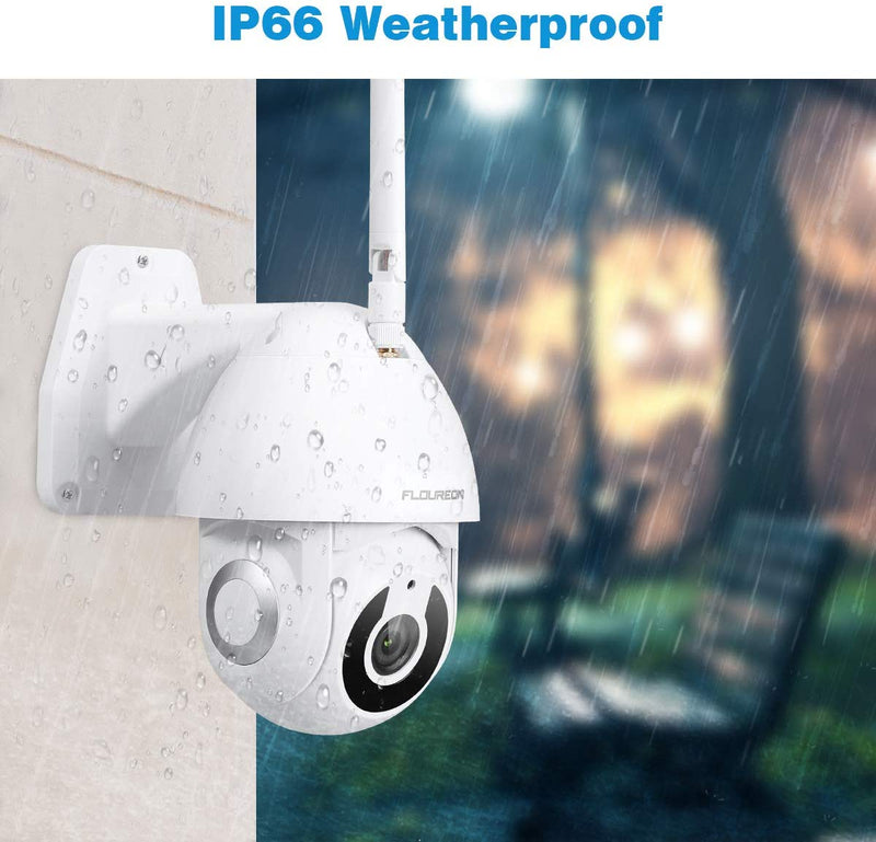 HD 1080P YI IOT Camera WiFi IP Security Camera Pan/Tilt Works With Alexa Echo Show