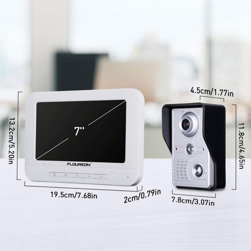 7 Inch Video Doorbell Phone System