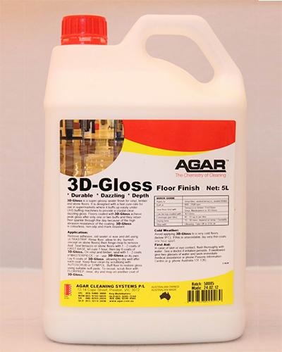 AGAR 3D-GLOSS - United Cleaning Supplies