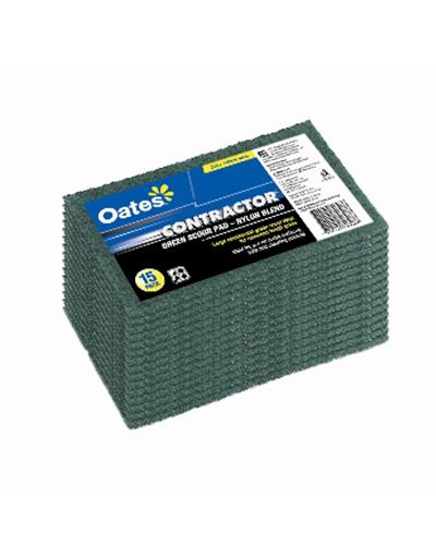 Oates No. 103 Nylon Scour Pad - 10 Pack - United Cleaning Supplies