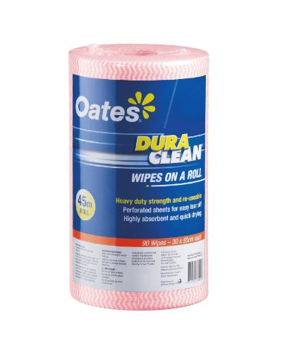 Oates DuraClean® Wipes on a Roll - 45m*30cm - United Cleaning Supplies