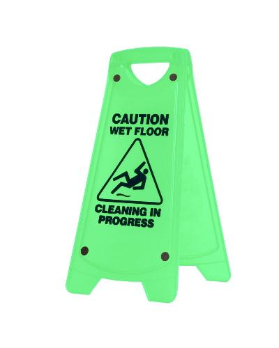 Oates Non-Slip 'A' Frame Caution Wet Floor Sign - United Cleaning Supplies