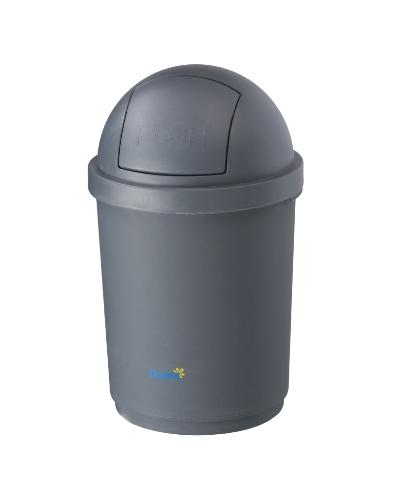 Oates Domed Bin - Grey 28L - United Cleaning Supplies