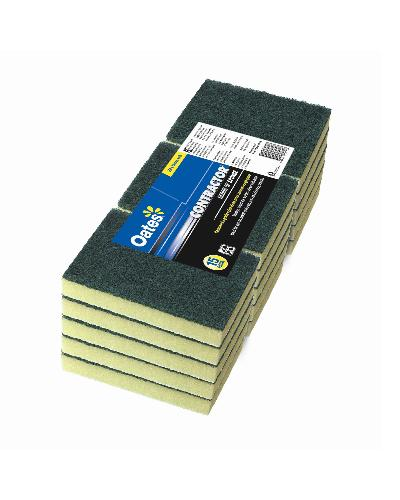 Oates CONTRACTOR SCOUR 'N' SPONGE 15pk 15*10cm - United Cleaning Supplies