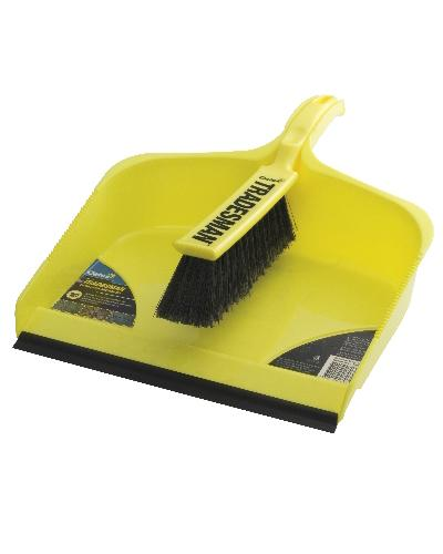 Oates - Trademan Extra Large Dustpan Set - United Cleaning Supplies