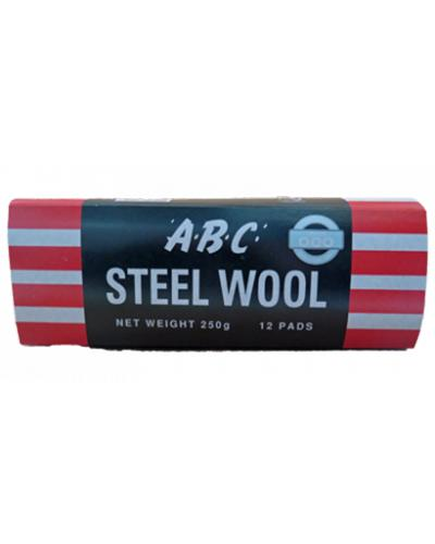 EASTPOINT - ABC STEEL WOOL 12 PK GRADE 0 - United Cleaning Supplies