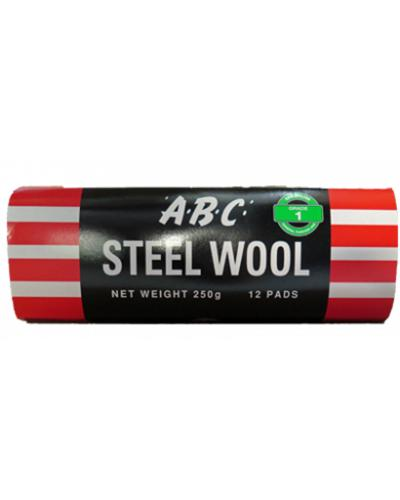 EASTPOINT - ABC STEEL WOOL 12 PK GRADE 1 - United Cleaning Supplies
