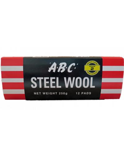 EASTPOINT - ABC STEEL WOOL 12 PK GRADE 2 - United Cleaning Supplies