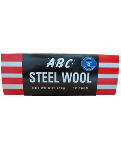 EASTPOINT - ABC STEEL WOOL 12 PK GRADE 00 - United Cleaning Supplies