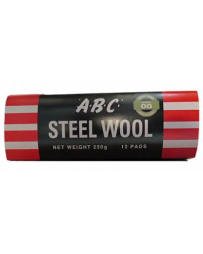 EASTPOINT - ABC STEEL WOOL 12 PK GRADE 000 - United Cleaning Supplies
