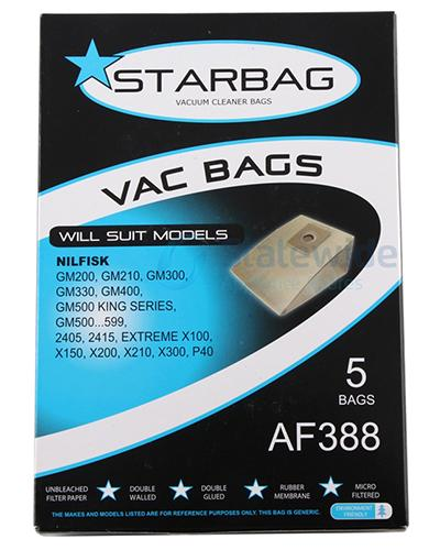 STARBAG - VAC BAGS 5pk AF388 - United Cleaning Supplies