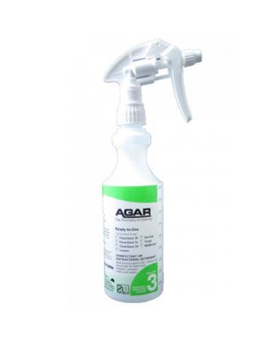 AGAR - NO.3 BOTTLE WITH TRIGGER 500ml- COMPLETE - United Cleaning Supplies