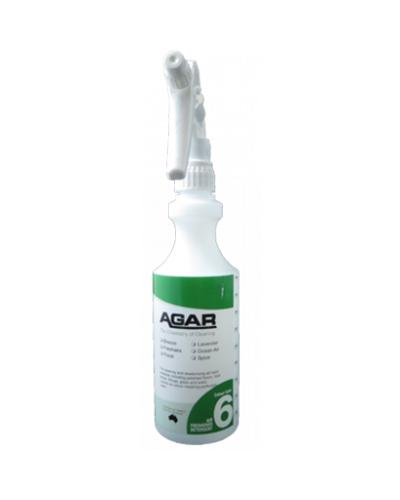 AGAR - NO.6 BOTTLE WITH TRIGGER 500ml - COMPLETE - United Cleaning Supplies