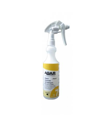 AGAR - NO.7 BOTTLE WITH TRIGGER 500ml- COMPLETE - United Cleaning Supplies