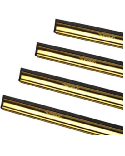 "ETTORE - BRASS CHANNEL AND RUBBER ""16 40cm - United Cleaning Supplies"