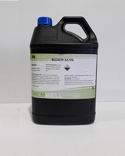 Chemwell Bleach 12.5% - United Cleaning Supplies
