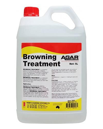 AGAR Browning Treatment 5L - United Cleaning Supplies