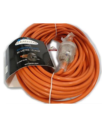 Cleanstar EXTENSION CABLE 30m 15 AMP - United Cleaning Supplies