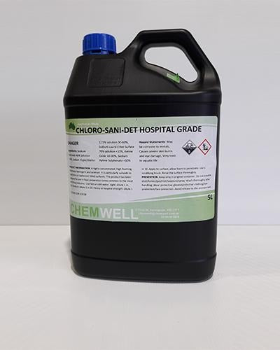 Chemwell Chloro-Sani-Det, Hospital Grade - United Cleaning Supplies