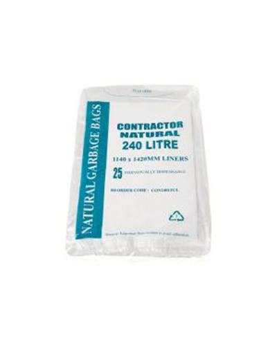 Austar Contractor All Purpose Clear Bin Liners - Clear - United Cleaning Supplies