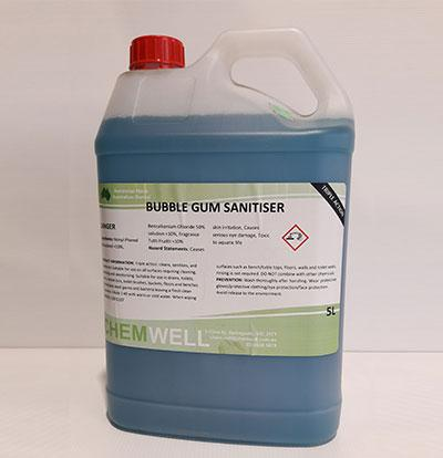 Chemwell Bubble Gum Sanitiser - United Cleaning Supplies