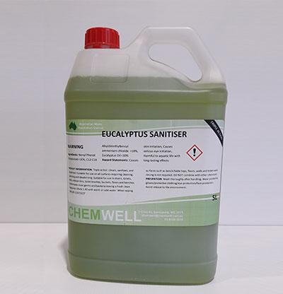 Chemwell Eucalyptus Sanitiser - United Cleaning Supplies