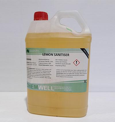 Chemwell Lemon Sanitiser - United Cleaning Supplies