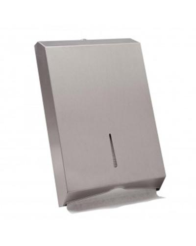 Interleaved Towel Dispenser (Stainless Steel) - United Cleaning Supplies