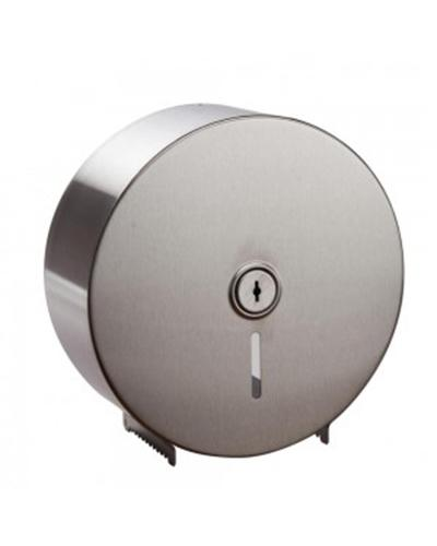 Caprice Jumbo Toilet Roll Dispenser (Stainless Steel) - United Cleaning Supplies