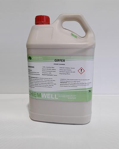 Chemwell Giffex Creamy Cleanser 5L - United Cleaning Supplies